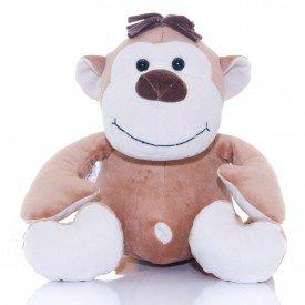 macaco de pel cia 30 cm safari baby