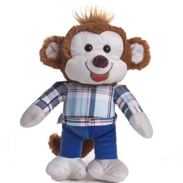 macaco de pel cia 40 cm chimba
