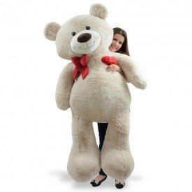 urso de pel cia gigante 1 metro e 50 cm apaixonado areia 1