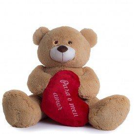 urso de pel cia 70 cm meu amor caramelo 1