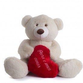 urso de pel cia 70 cm meu amor p rola 1