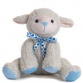 ovelha de pel cia 35 cm azul