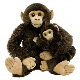 chimpanz m e e filho 80 cm