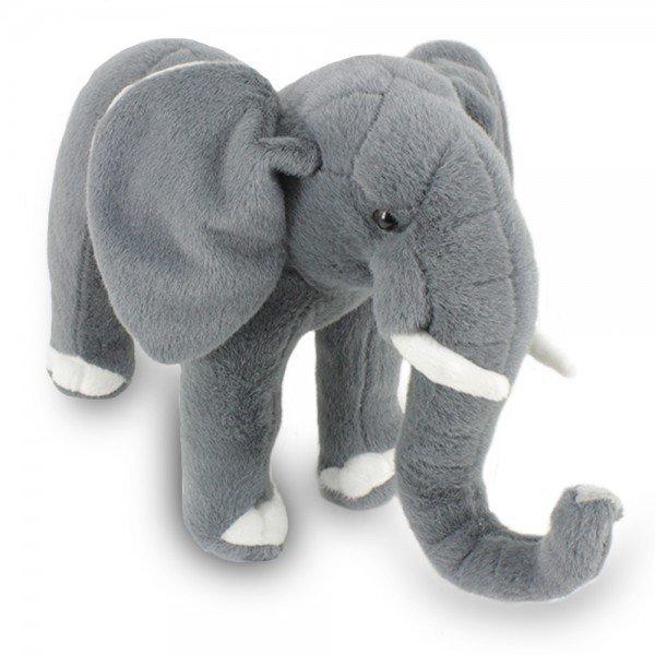 elefante de pel cia 34 cm savana frente 1