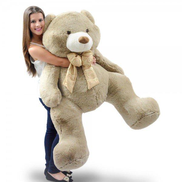 urso de pel cia gigante 1 metro e 30 cm guto avel 1