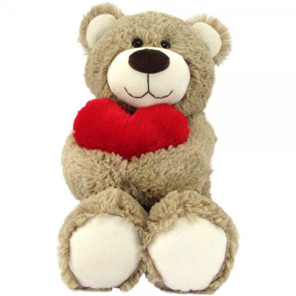 urso de pel cia 45 cm amoroso avel