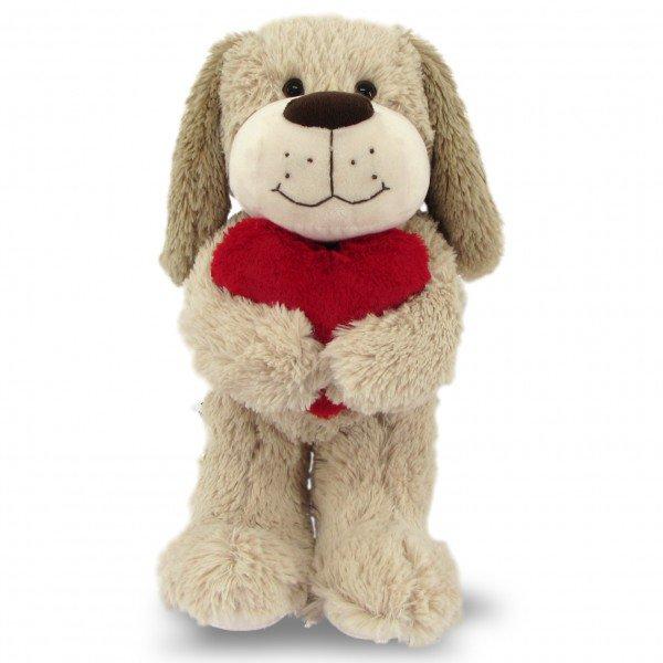 cachorro de pel cia 45 cm amoroso em areia