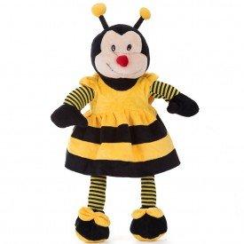 abelha de pel cia 60 cm listradinha com vestido copia