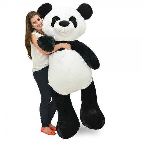 panda de pel cia gigante 1 metro e 50 cm apaixonado