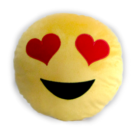 emoticons de pel cia 30 cm apaixonado