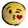 emoticons de pel cia 30 cm beijo