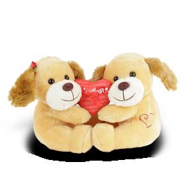 fi6585ca cachorro de pel cia 25 cm amor em dose dupla