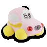 carrinho de pel cia 15 cm rosa