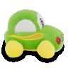 carrinho de pel cia 15 cm verde 1