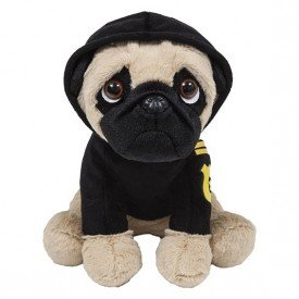 cachorro pug com roupa policial pug policial buba 1 1
