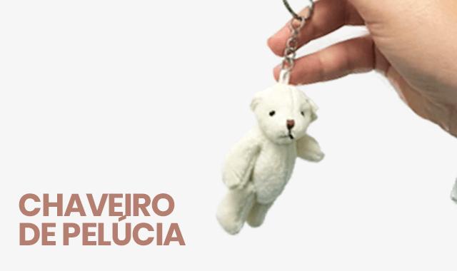 Chaveiro de Pelúcia