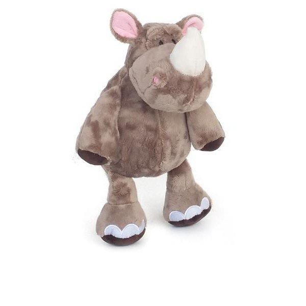 rinoceronte de pelucia 35 cm